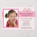 Princess Photo Birthday Invitation