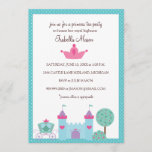 Princess Tea Party Invitations