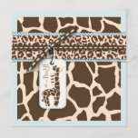 Safari Boy Invitation Square 2