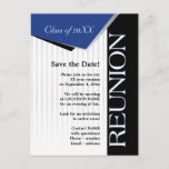 Save the Date Class reunion Announcement Postcard