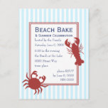 the Lobster & the Crab Invitation