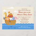TWINS! Noah's Ark Boy or Girl Baby Shower Invitation
